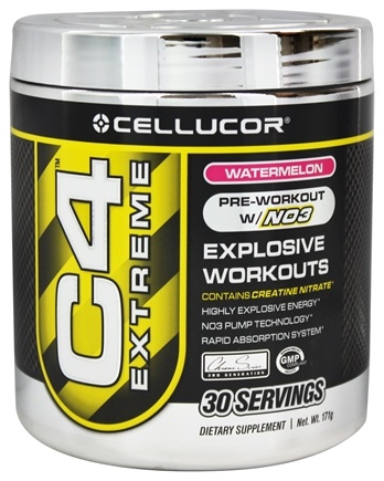 DROPPED: Cellucor - C4 Extreme Pre-Workout with NO3 Watermelon 30 servings - 180 Grams