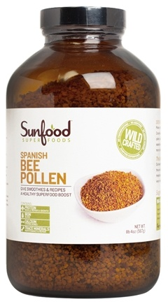 DROPPED: Sunfood Superfoods - Spanish Bee Pollen - 20 oz.