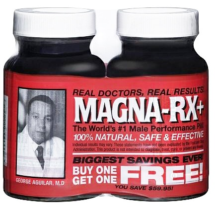 DROPPED: Magna Rx - + Male Performance Pill BOGO - 120 Tablets