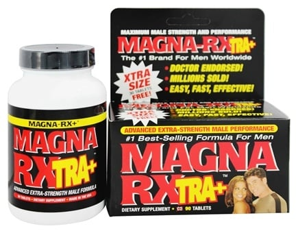 DROPPED: Magna Rx - Xtra + Advanced Extra-Strength Male Performance Pill - 90 Tablets