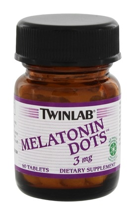 DROPPED: Twinlab - Melatonin Dots Wintergreen 3 mg. - 60 Tablets CLEARANCE PRICED