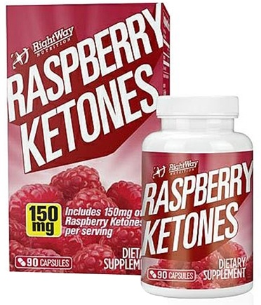 DROPPED: Rightway Nutrition - Raspberry Ketones 150 mg. - 90 Capsules