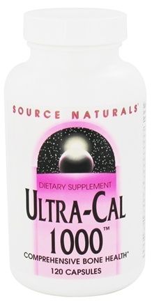 DROPPED: Source Naturals - Ultra Cal 1000 - 120 Capsules CLEARANCE PRICED