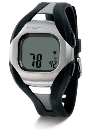 DROPPED: Sportline - Solo 960 Heart Rate + Speed & Distance Watch Designed to fit Men Black - 1 Monitor(s) CLEARANCE PRICED