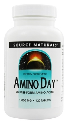 DROPPED: Source Naturals - Amino Day 1000 mg. - 120 Tablets