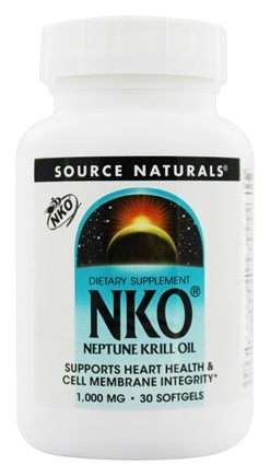 Source Naturals - NKO Neptune Krill Oil 1000 mg. - 30 Softgels