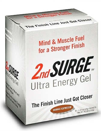DROPPED: Endurox - 2nd Surge Ultra Energy Gel Double Expresso - 29 Grams