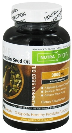 DROPPED: Nutra Origin - Omega-3 Pumpkin Seed Oil 3000 mg. - 90 Softgels