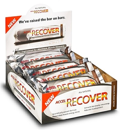 DROPPED: Endurox - Accel Recover Bar Chocolate Peanut Butter - 1.9 oz. CLEARANCE PRICED