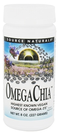 DROPPED: Source Naturals - OmegaChia Powder - 8 oz. CLEARANCE PRICED