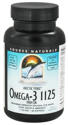 DROPPED: Source Naturals - ArcticPure Omega-3 Fish Oil - 60 Softgels CLEARANCE PRICED
