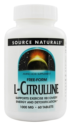 Source Naturals - Free-Form L-Citrulline 1000 mg. - 60 Tablets