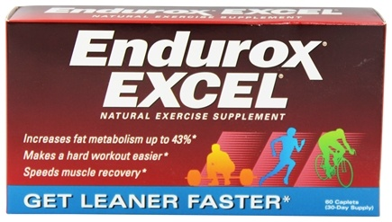 Endurox - Excel Natural Training Supplement - 60 Capsules