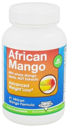 DROPPED: OxyLife Products - African Mango - 60 Capsules CLEARANCE PRICED