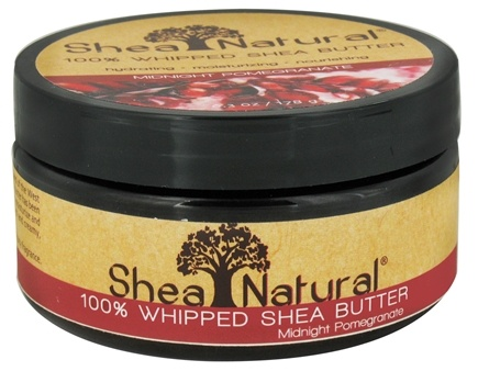 DROPPED: Shea Natural - 100% Whipped Shea Butter Midnight Pomegranate - 6.3 oz. CLEARANCE PRICED