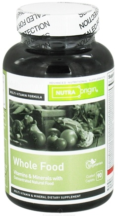DROPPED: Nutra Origin - Multi Today Whole Food Vitamins and Minerals - 90 Vegetarian Caplet(s)
