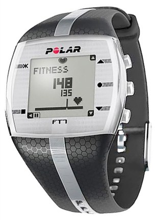 DROPPED: Polar - FT7M Heart Rate Monitor Watch Black/Silver - CLEARANCE PRICED