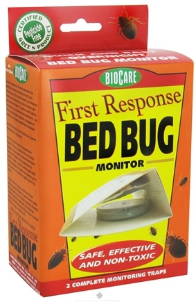 DROPPED: SpringStar - BioCare First Response Bed Bug Monitor - 2 Traps - CLEARANCE PRICED
