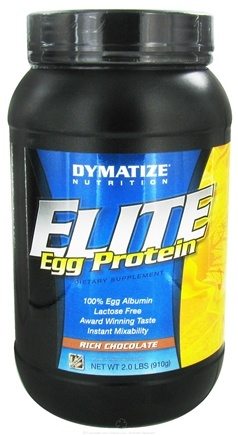 DROPPED: Dymatize Nutrition - Elite Egg Protein Rich Chocolate - 2 lbs.