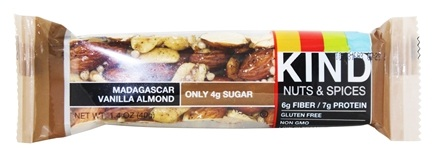 Kind Bar - Nuts & Spices Bar Madagascar Vanilla Almond - 1.4 oz.