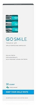 DROPPED: Go Smile - Touch Up Smile Perfecting Fresh Mint - 30 Ampoules CLEARANCE PRICED