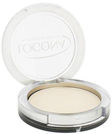 DROPPED: Logona - Pressed Face Powder 01 Light Beige - 10 Grams CLEARANCE PRICED