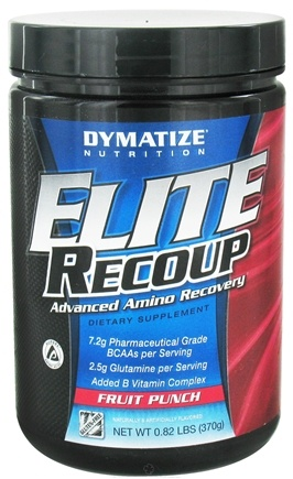 DROPPED: Dymatize Nutrition - Elite Recoup Advanced Amino Recovery - 30 Servings Fruit Punch - 0.76 lbs.
