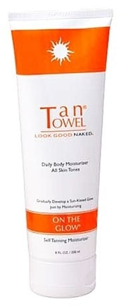 DROPPED: TanTowel - On The Glow Daily Body Self Tanning Moisturizer - 8 oz.