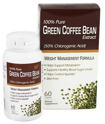 DROPPED: Windmill Health Products - Green Coffee Bean Extract Weight Management Formula 400 mg. - 60 Tablets