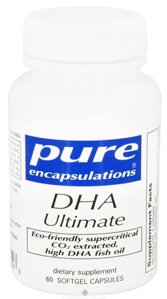 DROPPED: Pure Encapsulations - DHA Ultimate - 60 Softgels