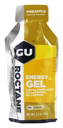 GU Energy - Roctane Ultra Endurance Energy Gel No Caffeine Pineapple - 1.1 oz.