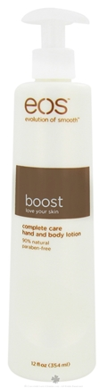 DROPPED: Eos Evolution of Smooth - Hand and Body Lotion Boost Complete Care - 12 oz.