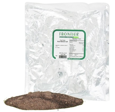 DROPPED: Frontier Natural Products - Salt Fine Grind Kala Namak - 1 lb. CLEARANCE PRICED