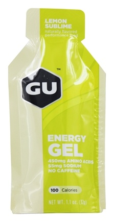 GU Energy - GU Energy Gel No Caffeine Lemon Sublime - 1.1 oz.