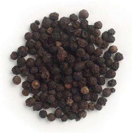 Frontier Natural Products - Black Peppercorns Whole Organic Fair Trade Certified - 1 lb.