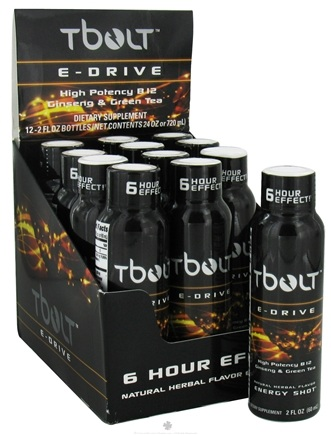 DROPPED: TBolt - E-Drive Energy Shot - 2 oz.