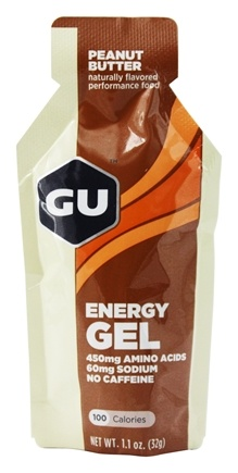 GU Energy - GU Energy Gel No Caffeine Peanut Butter - 1.1 oz.