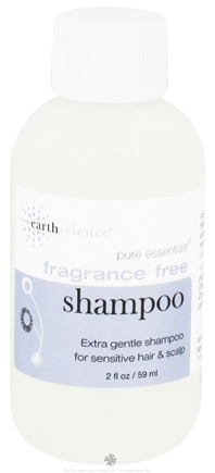 DROPPED: Earth Science - Pure Essentials Travel Size Shampoo Fragrance-Free - 2 oz.