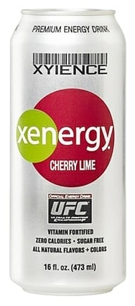 DROPPED: Xyience - Xenergy Premium Energy Drink Cherry Lime - 16 oz.