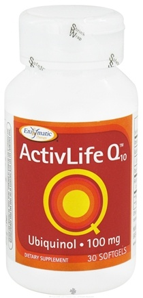 DROPPED: Enzymatic Therapy - ActivLife Q10 Ubiquinol 100 mg. - 30 Softgels CLEARANCE PRICED