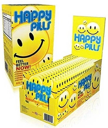 DROPPED: Brain Pharma - Happy Pills Non-Prescription Feel Good Formula - 60 Capsules