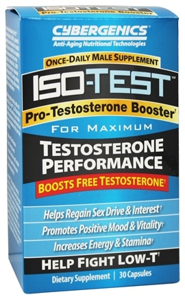 Cybergenics - Iso-Test Pro-Testerone Booster - 30 Capsules