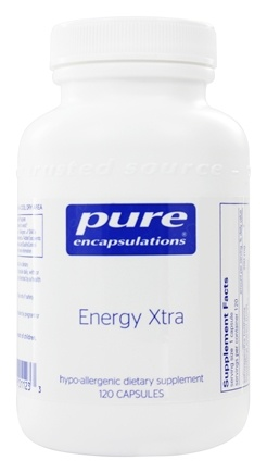 DROPPED: Pure Encapsulations - Energy Xtra - 120 Capsules