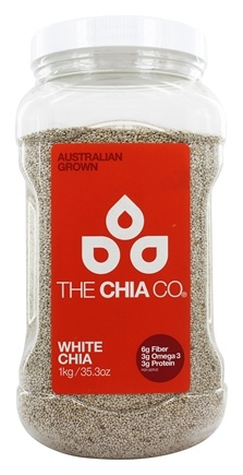The Chia Co - Chia Seed White Australian Grown - 1 kg.