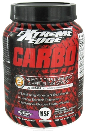 DROPPED: Extreme Edge - Carbo Load Muscle Replenishing and Refueling Stack Bustin Berry - 2.5 lbs. CLEARANCE PRICED