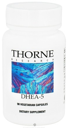 DROPPED: Thorne Research - DHEA 5 mg. - 90 Vegetarian Capsules