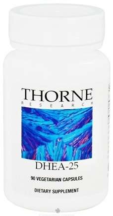 DROPPED: Thorne Research - DHEA 25 mg. - 90 Vegetarian Capsules