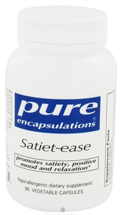 DROPPED: Pure Encapsulations - Satiet-Ease - 90 Vegetarian Capsules