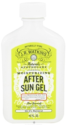 DROPPED: JR Watkins - Naturals Apothecary Moisturizing After Sun Gel - 12 oz.