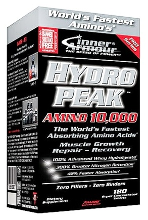 DROPPED: Inner Armour - Hydro Peak Amino 10,000 - 180 Tablets
